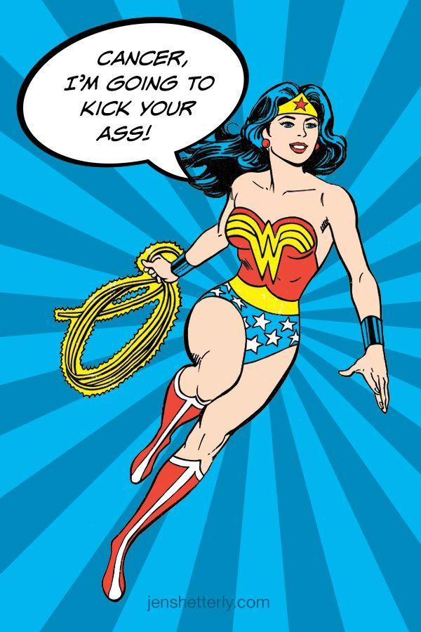 Der mentale Kampf: Was haben Wonder Woman und Warhammer mit Krebs zu tun? 5