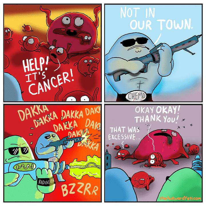 Keep Kicking Cancers Ass!